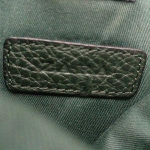 Zara Bags - Zara Men's Tote Bag In Dark GREEN Pebbled Leather